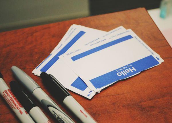 Registering business identity