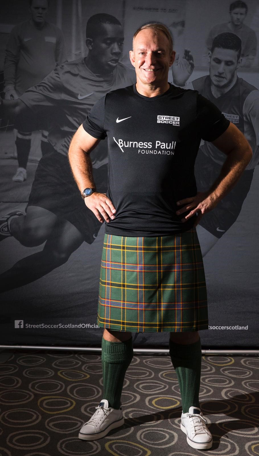Francois Pienaar Street Soccer Scotland Burness Paull